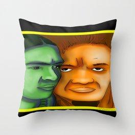 Frida Kahlo and Diego Rivera Throw Pillow