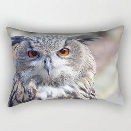 Eurasian Eagle-Owl, Uhu Rectangular Pillow