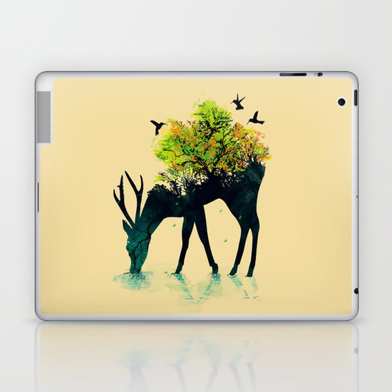 Watering (A Life Into Itself) Laptop & iPad Skin