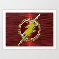 Electrified Flash Art Print