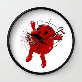 Kool Aid Wall Clock