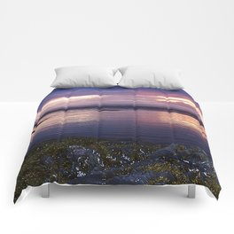 Sunset Split Comforters