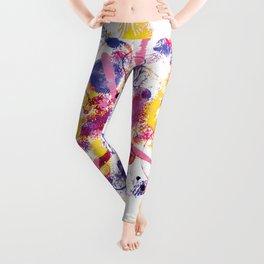 Abstract 3 Leggings