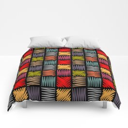 Draw simple1 Comforters