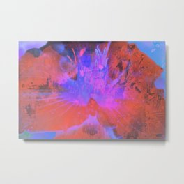 Electric Flower Metal Print
