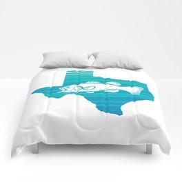 Texas Wave Fishing Comforters