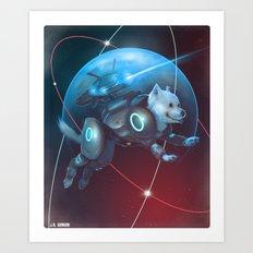 Laika Come Home Art Print