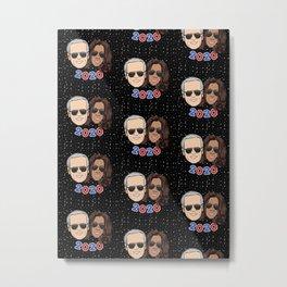 galaxy dream team: biden harris 2020 cartoon sunglasses Metal Print