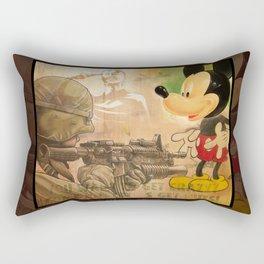 Get Crazy Mickey Rectangular Pillow