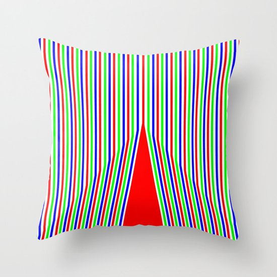 RGB3 Throw Pillow