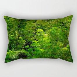 Underwater green Rectangular Pillow