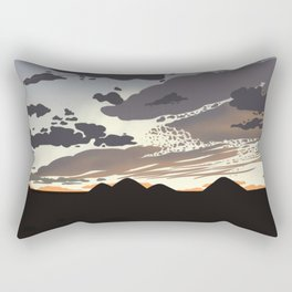 Tempe Skies Rectangular Pillow