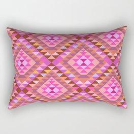 KILIM NO. 7 IN WARM MULTI Rectangular Pillow
