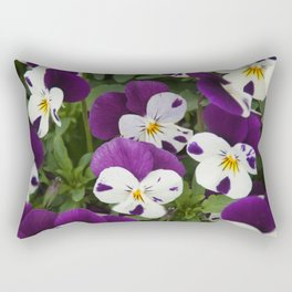 Pansy Rectangular Pillow