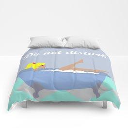 Do not disturb (Blonde) Comforters