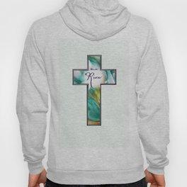 He is Risen Cross Hoody