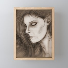 A Dreamer in the Ivy Framed Mini Art Print