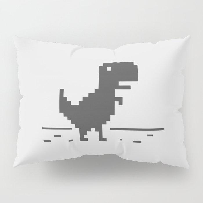 Google Chrome's Dino Pillow Sham