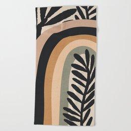 Abstract Art Rainbow 2 Beach Towel
