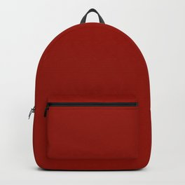 Cherry Red -Solid Color Collection Backpack