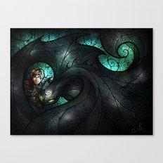 The Alpha Canvas Print