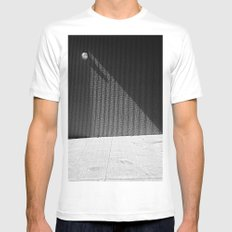 Triangle MEDIUM Mens Fitted Tee White