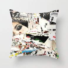 Collide 1 Throw Pillow