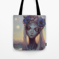 Dreams of Other Worlds Tote Bag