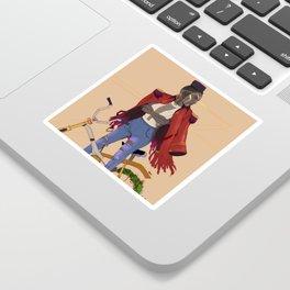 Gaia's rider Sticker