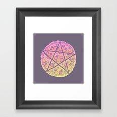 Pizza Power! Framed Art Print