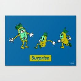 Surprise!! Canvas Print