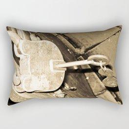 THE PADLOCKS OF MY HEART Rectangular Pillow