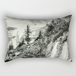 Mount Assiniboine Rectangular Pillow