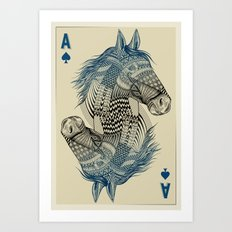 American Pharoah (Ace) Art Print