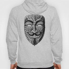 Ornate Anonymous Mask Hoody