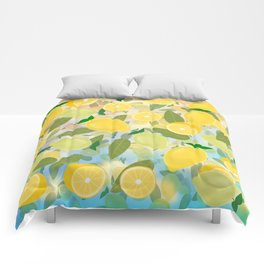 Lemon Song Comforters