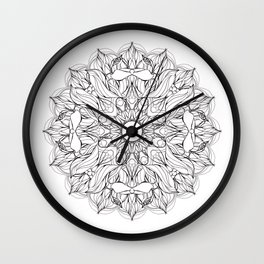 Love_Virus Wall Clock