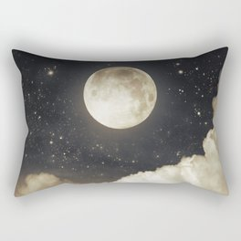 Touch of the moon I Rectangular Pillow