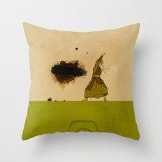 Avatar Kyoshi Throw Pillow