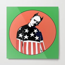 Keith Prodigy Orange and Green *All proceeds donated to charity* Metal Print