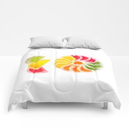 multicolored chewy gumdrops sweets Comforters