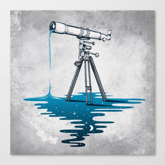 Liquid Universe Canvas Print