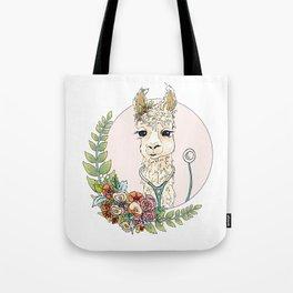 Healthcare Llama Tote Bag