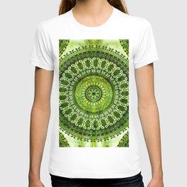 Vintage Lime Mandala T-shirt