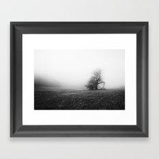 Broken Branch Framed Art Print