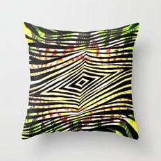 JUNGLE ZEBRA Throw Pillow
