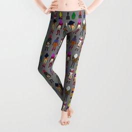 Superhero Butts - Girls Superheroine Butts LV Leggings