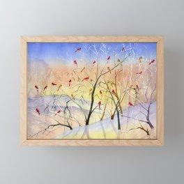 Winter Song Framed Mini Art Print