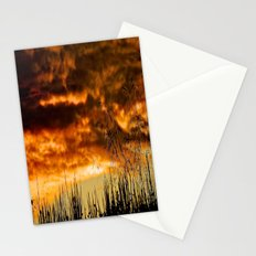 When Storm & Sunset Meet Stationery Cards