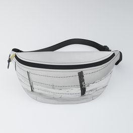 Snow and wind Fanny Pack